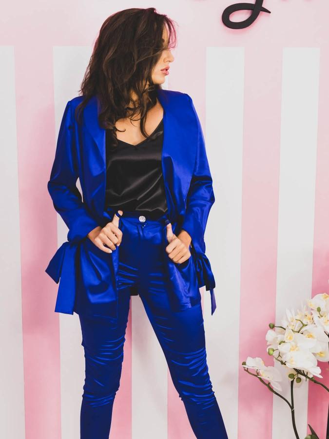 Compleu Elegant cu 3 piese Miss Blue