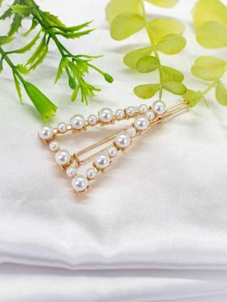Agrafa pentru par cu perle