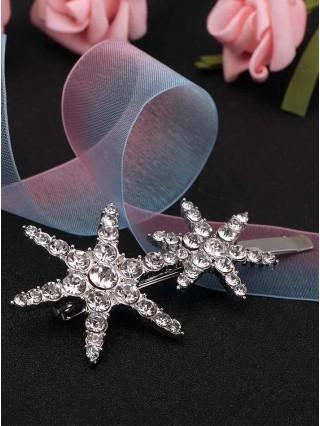 Agrafa pentru par Cristal Stars