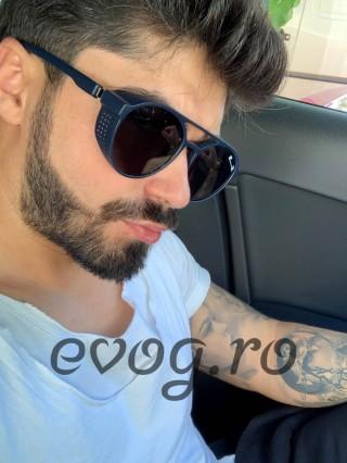 Ochelari de soare barbatesti Matteo Ferari Armour Blue