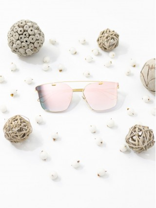 Ochelari de soare Amine Pink Mirror
