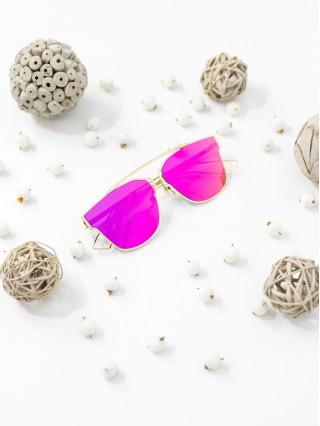 Ochelari de soare Amine Fuchsia Mirror