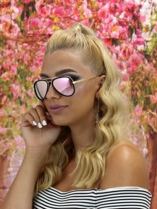 Ochelari de soare Aviator Cklass Pink V Black