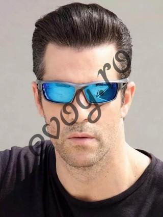 Ochelari de soare Robbo unisex Black V Blue