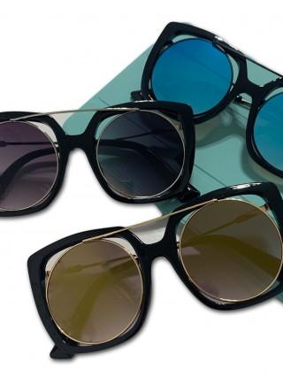 Ochelari de soare Bloom Black V Blue