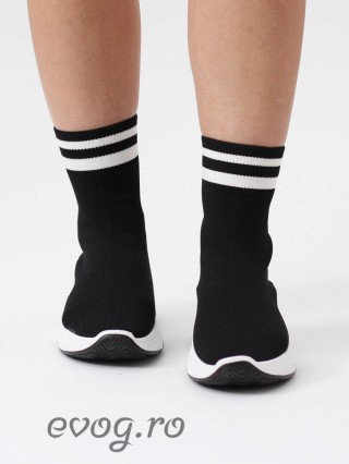 High Top Sneakers Elentine Black