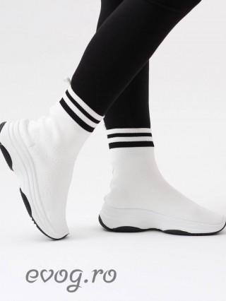 High Top Sneakers Elentine Bianco