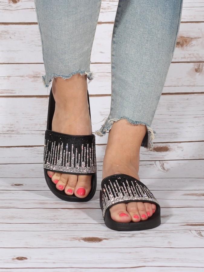 Papuci Ghiter Black