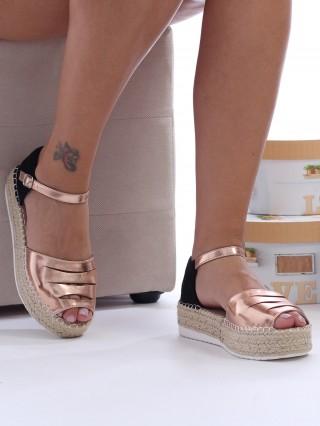 Sandale cu platforma medie Ciara CHAMPAGNE