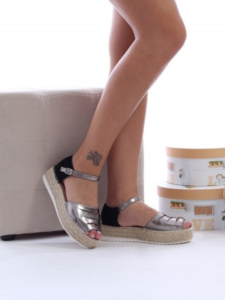 Sandale cu platforma medie Ciara GUN