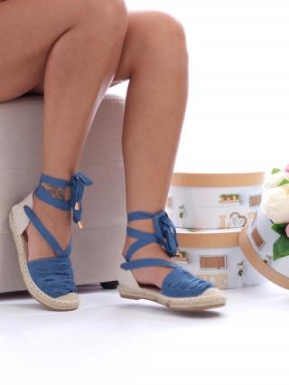 Sandale cu talpa joasa Comfy Blue