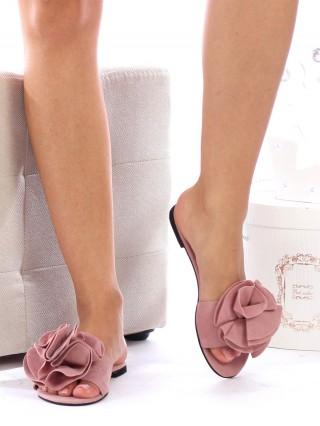 Papuci Fleur Pink