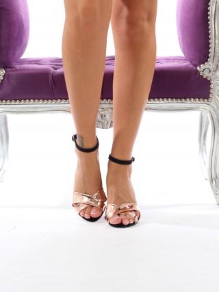 Sandale cu toc Bellezza BlackRose