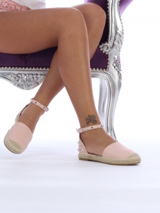 Sandale cu talpa joasa Comfy Pink