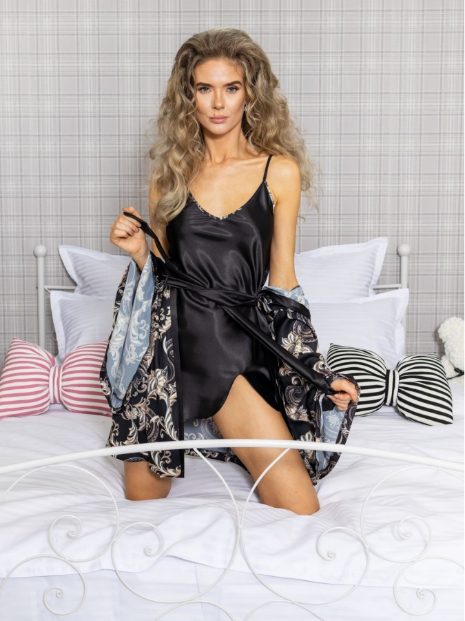 Set Rochita de Noapte si Halat Luxury cod PJS227